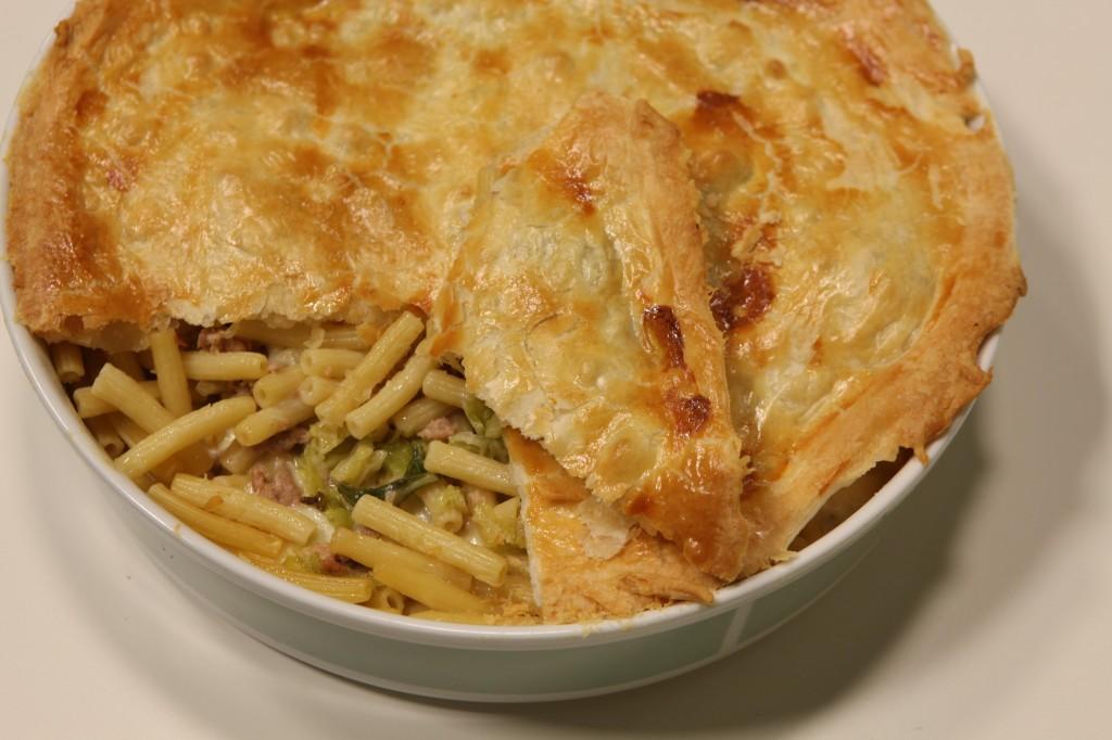 Ricetta pasta al forno in crosta