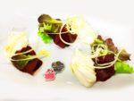 Mousse di parmigiano reggiano con bresaola
