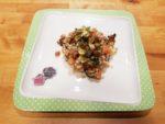 insalata estiva di orzo e zucchine